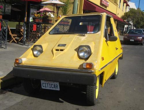 Citicar : une voiture électrique de l'histoire