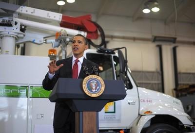 Plan de relance de Barack Obama pour le véhicule électrique