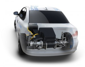 BMW Avtive E Voiture electrique