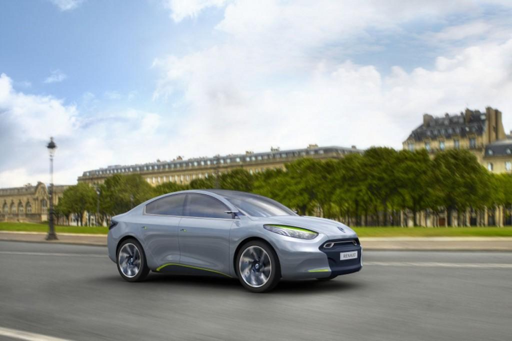 La nouvelle Renault Fluence électrique devrait être disponible dès septembre