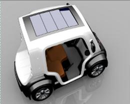 Eclectic Venturi electrique solaire