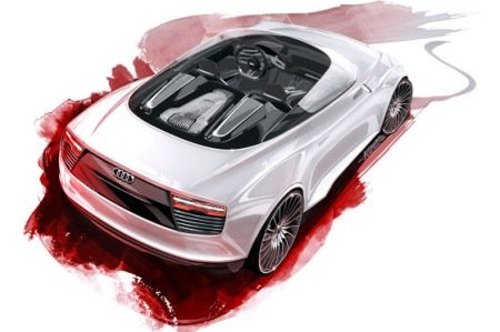 Audi E-Tron Concept hybride