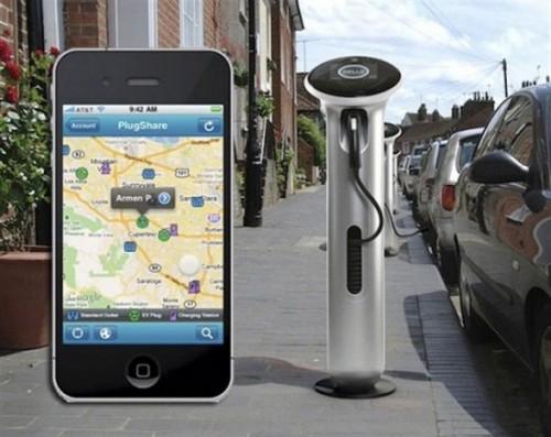 voiture electrique iPhone