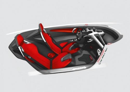 Audi Urban Concept Intérieur