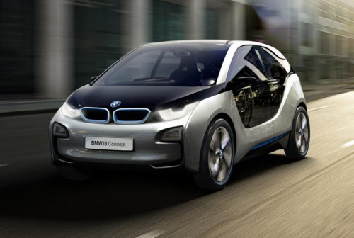BMW i3 Concept : Voiture lectrique  moteur optionnel de moto