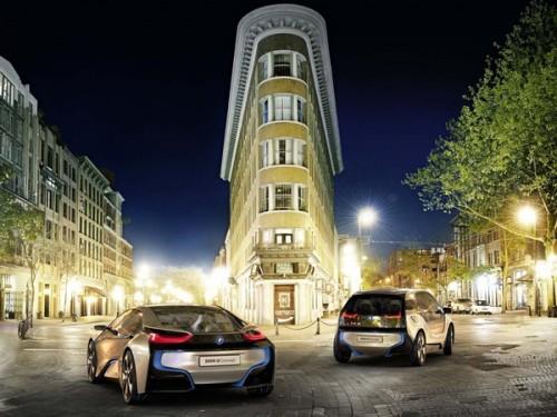 BMW véhicules électriques