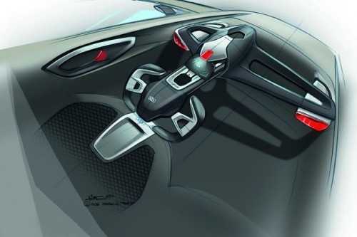 Audi Urban Concept inside