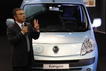 appel d'offre sur la voiture électrique gagné par Renault