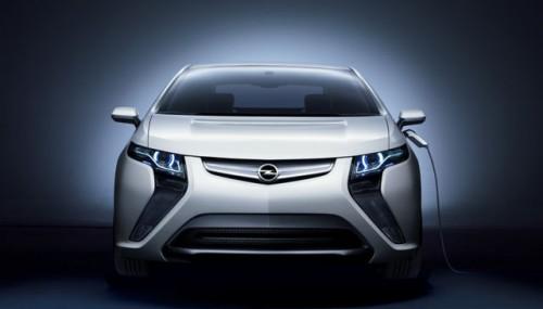 La voiture electrique d'Opel, l'Ampera