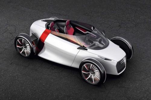 La version électrique cabriolet de l'Audi Urban Concept