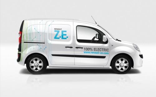 La Renault Kangoo ZE, véhicule utilitaire électrique