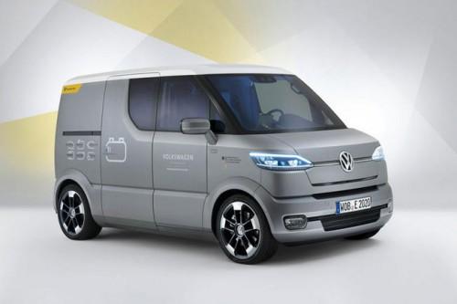 Le van concept car electrique de Volkswagen