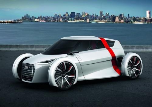 Le concept car électrique citadin Audi Urban Concept