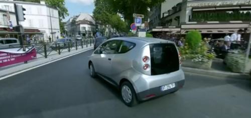 autolib paris Blue Car