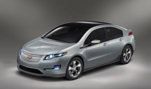 La Chevrolet Volt, voiture électrique du groupe Américain