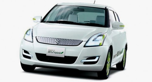La suzuki swift hybride