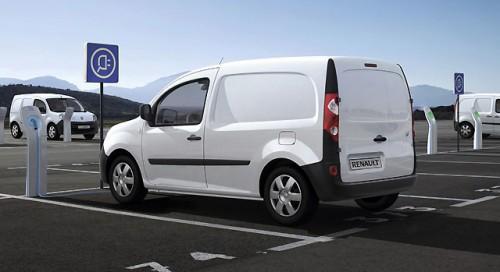 Le Kangoo ZE, utilitaire électrique de Renault