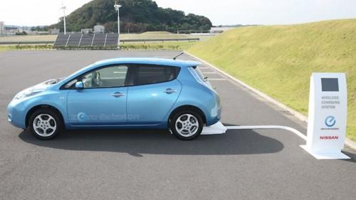 La Nissan Leaf 2014 pourra être rechargée par induction