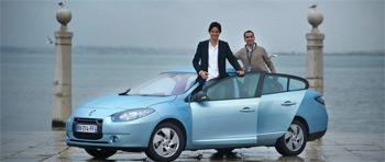 Véhicule électrique : Renault fluence ZE