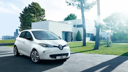 La Renault Zoé ZE domine le marché des voitures électriques