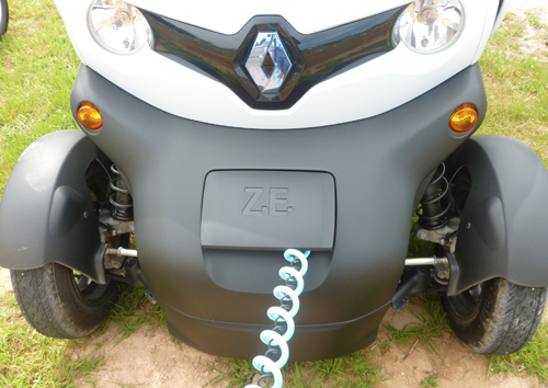 charge twizy