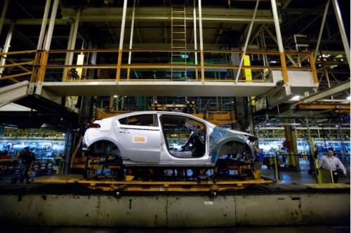 Production de la Chevrolet Volt