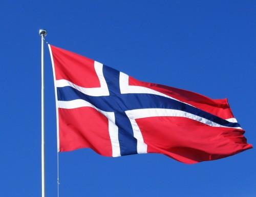 Le drapeau de la Norvège