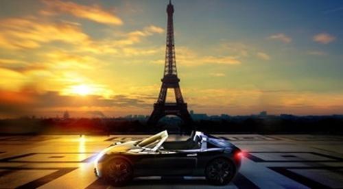 Le Roadster électrique Pariss, d'Ecomobilys