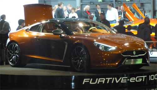 La Furtive e-GT d'Exagon Motors