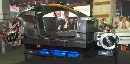 Le Chassis de l''exagon Furtive eGT