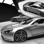 Exagon Motors Furtive e-GT Grise