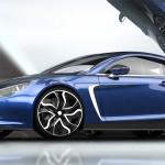 Exagon Motors Furtive e-GT bleue