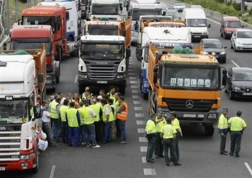 Blocage routier prix diesel