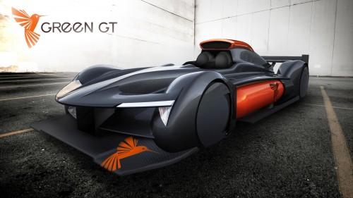 La green GT H2 : électrique à pile à combustible