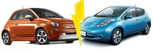 Fiat trouve la nissan leaf moche