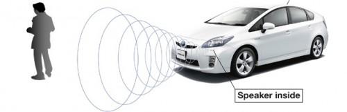 bruit de la voiture électrique