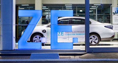 les ventes de voitures électriques en 2012