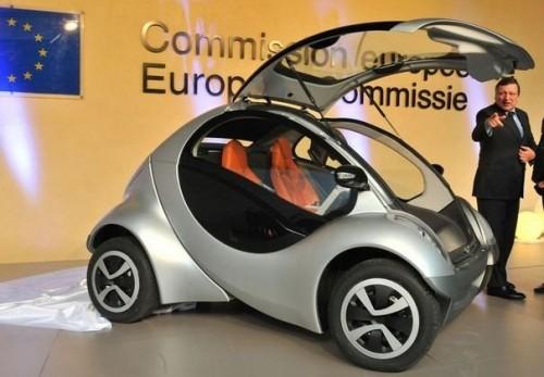 La voiture électrique à la commission européenne