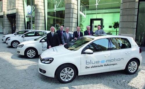 voitures électriques volkswagen e-up et e-golf
