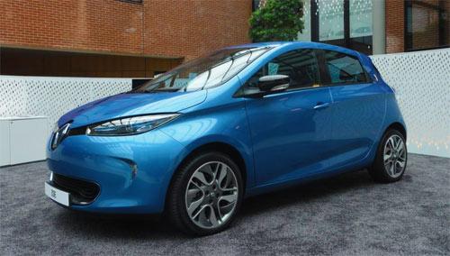 La Renault Zoe ZE : la voiture électrique populaire 2013