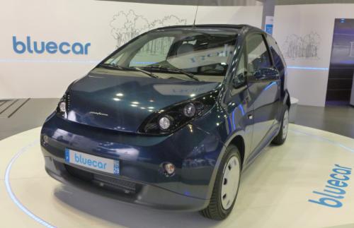 La Bolloré Bluecar en vente en france au prix de 12000 euros