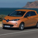 Renault ZOE ZE couleur orange