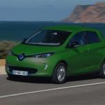 Renault ZOE ZE couleur vert sapin