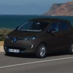 Renault ZOE ZE couleur Noir Mat
