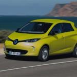 Renault ZOE ZE couleur jaune