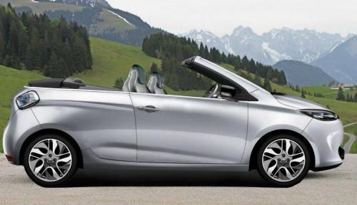 La Renault Zoé en version cabriolet