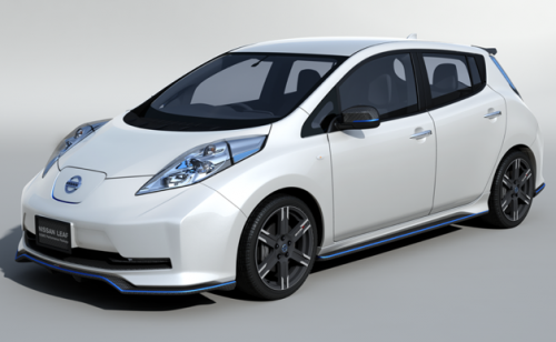 La Nissan Leaf Nismo va connaître des améliorations