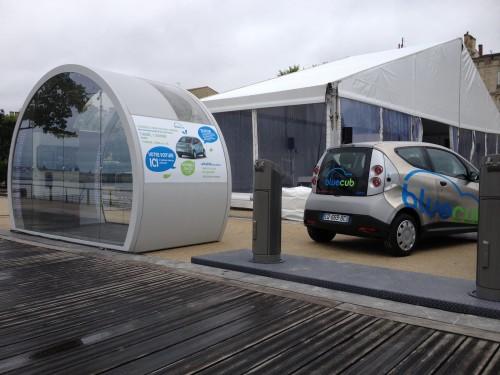 Le service d'auto-partage de voitures électrique à Bordeaux
