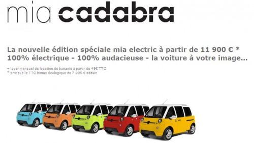 500 exemplaires de cette édition limitée Mia Cadabra sont en vente