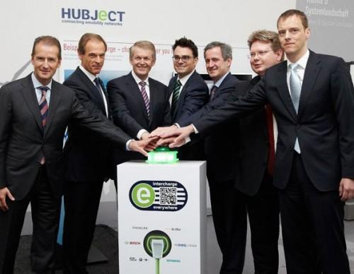 Le réseau Hubject Intercharge permet de recharger se voiture électrique en Europe